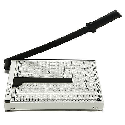 10 X 12 Paper Cutter Metal Base Industrial Commercial Trimmer Heavy Duty New