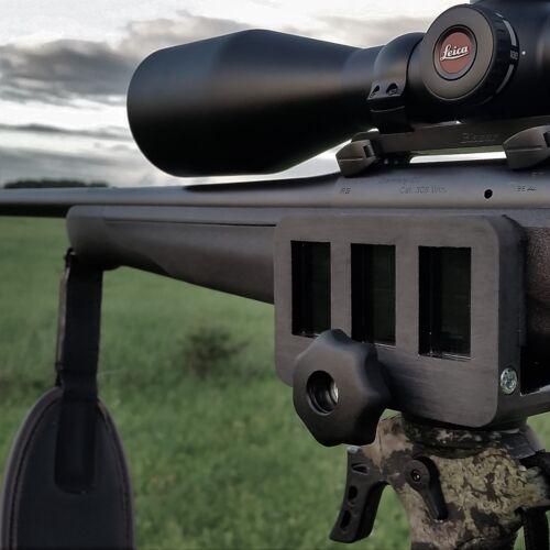 ORIGINAL Rifle clamp Saddle mount Tripod mount adapter Precision shooting rest