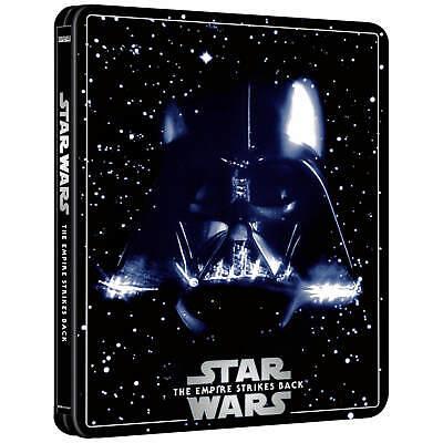 Star Wars V The Empire Strikes Back 4K Ultra HD Steelbook 3 Disc OOS BNIB