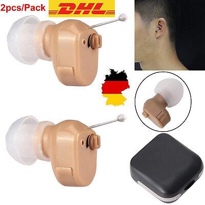 2X Axon K-188 Digital Profi Hörgerät Hörhilfen Hörverstärker Tone Hearing Aid DE Digitales Hörgerät