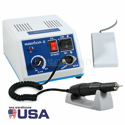 Dental Lab Marathon Electric Micromotor35k Rpm Handpiece Polishing Jewelry Ou