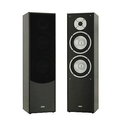 mohr SL10 Standlautsprecher HiFi Standboxen Lautsprecher 2.0 System Neu Boxen
