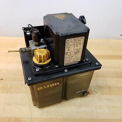 Daido Metal Co. Mrj010411a-10008 Hyrdaulic Lubrication System. - Used