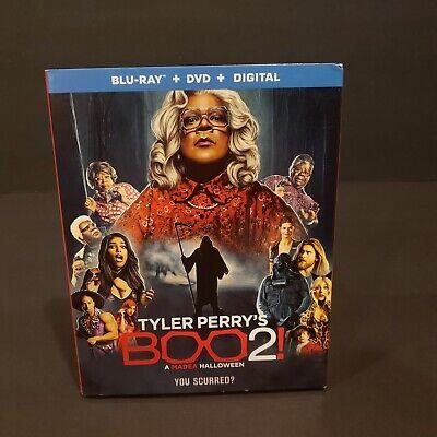 Tyler Perry's Boo 2: A Madea Halloween (Blu ray DVD Digital 2018) NEW W/ SLIP - A Madea Halloween Boo