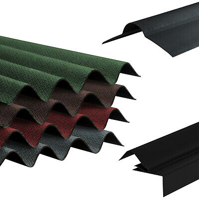 Corrugated Roof Sheet Bitumen Shed Garage Barn Lean-to Corrapol-BT Roofing