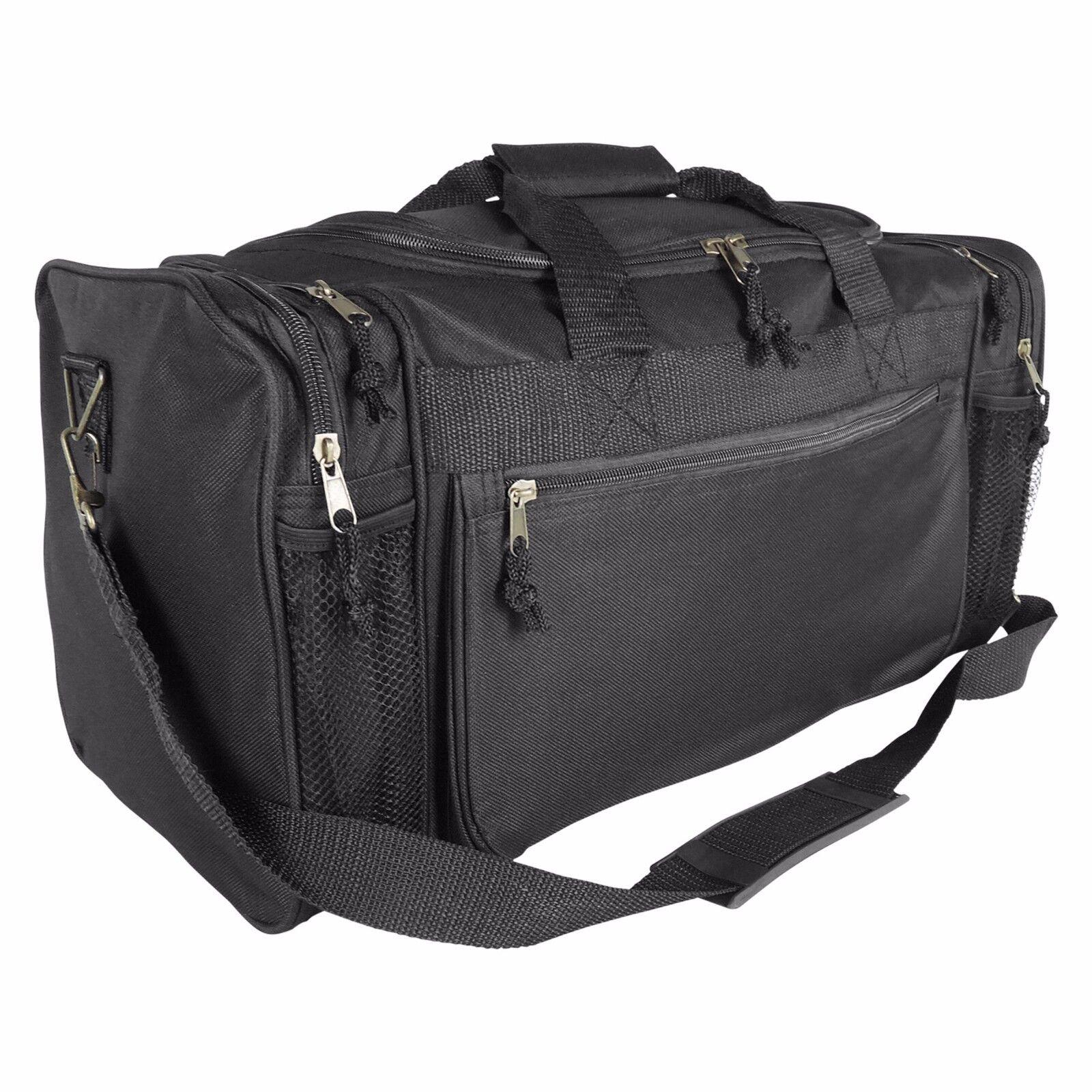 DALIX Brand New Duffle Bag Sports Duffel Bag in Black Gym Ba