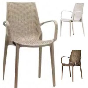 INDOOR, OUTDOOR EUROPEAN MADE INJECTION PLASTIC  CHAIRS ON SALE