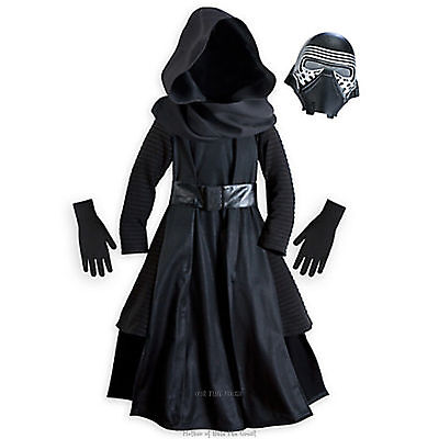 NEW Disney Store Kylo Ren Costume Star Wars Force Awakens Boys Size 13