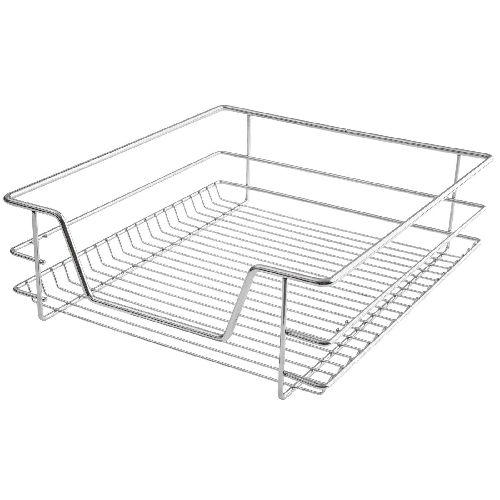 panier de rangement coulissant cuisine meuble pour placard tag re tiroir 50 cm eur 32 90. Black Bedroom Furniture Sets. Home Design Ideas