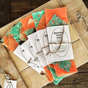 Beeswax Food Wraps LOCALLY MADE