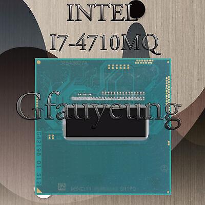 Intel Core i7 4th Gen. i7-4710MQ 4 Core 8 Threads FCPGA946 Laptop CPU Processor, used for sale  Shipping to Nigeria