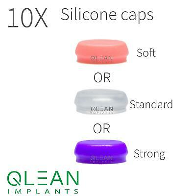 Lot Of 10 Silicone Caps For Dloc Attachment Dentures Any Mix Available