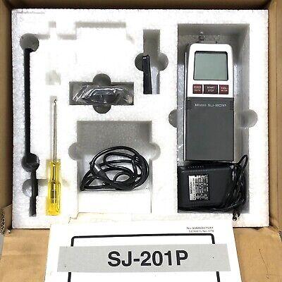 Mitutoyo Sj-201p Profilometer Surface Roughness Tester Kit Very Nice
