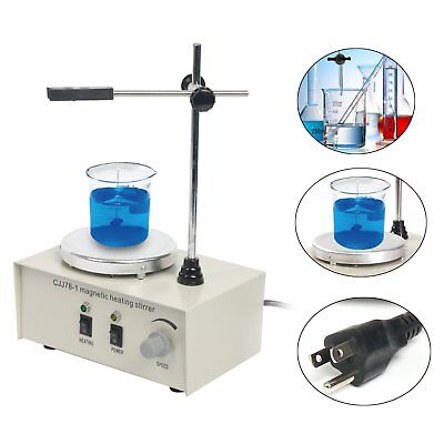 1000ml Hotplate Mixer Magnetic Stirrer With Heating Plate 78-1 110v 2400rpmmin
