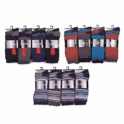 Wholesale joblot men 12 Pairs Calvin Design Socks 6-11