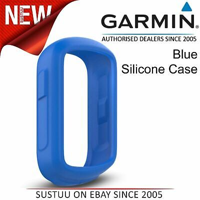 Garmin Silicone Case¦Protective Cover¦For Edge 130 GPS Cycle Bike Computer¦Blue