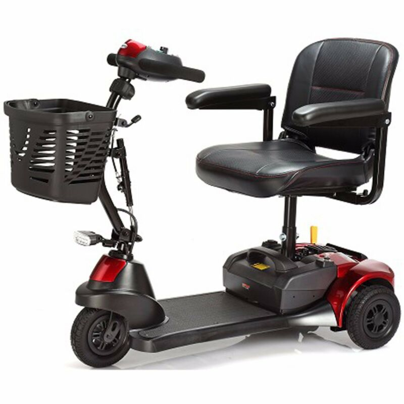 Merits Roadster Dx S731 3 Wheel Electric Mobility Scooter, Easy To Transport