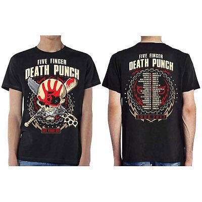 Five Finger Death Punch Officiel Zombie Killer Tour Dates T-Shirt Unisexe - Zombie Punch