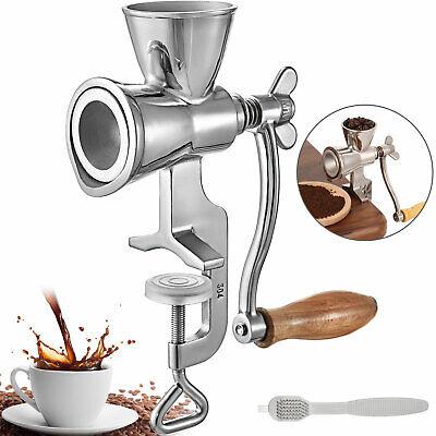 Getreidemühle Mohnmühle Handmühle Schrotmühle Kaffeemühle Nussmühle Edelstahl
