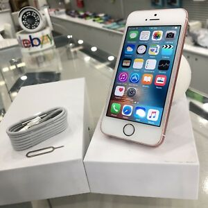 Original iPhone SE 16GB Rose Gold Tax Invoice Warranty Surfers Paradise Gold Coast City Preview