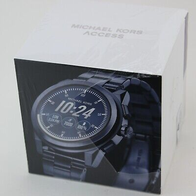 NEW AUTHENTIC MICHAEL KORS GRAYSON ACCESS SMARTWATCH TOUCH SCREEN MKT5028 WATCH