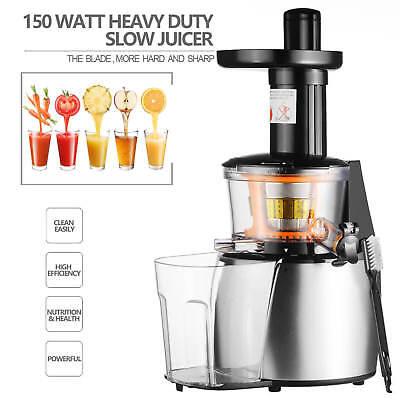 150W Heavy Duty Slow Juicer Machine Fruit Vegetable Vitamin Extractor