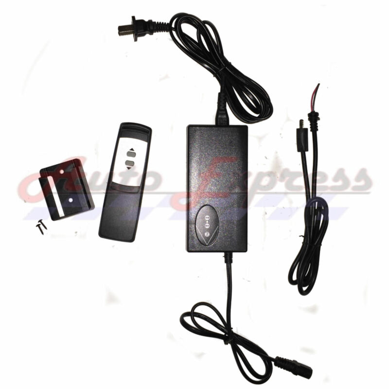 Linear Actuator Power Supply with Remote Control 110 Ac Dc 2 button control