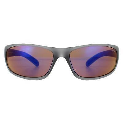Bolle Gafas de Sol Anaconda BS027001 Mate Gris Cristal Azul Marrón