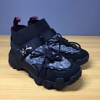 Puma Trailfox Les Benjamins Black Shoes 369529 01, Men's 6 M