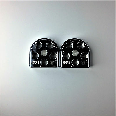 (2) Dillon Precision XL650 Style Billet Aluminum Toolhead 5 Station tool head for sale  Shipping to Canada