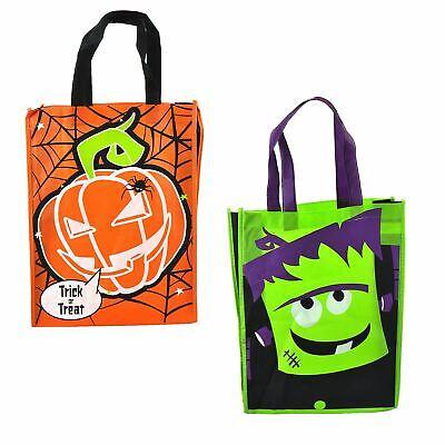 Kids Halloween Trick Or Treat Pumpkin/Frankenstein Party Sweets Bag Loot Gift](Halloween Sweets Kids)