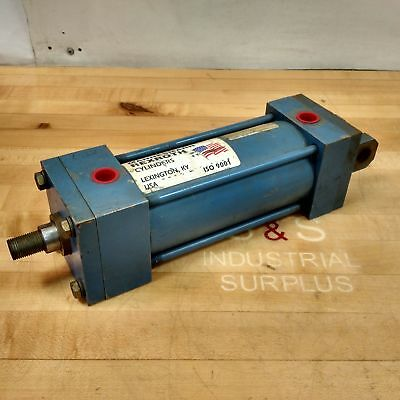 Rexroth Ct-7 Pneumatic Cylinder 3-14 Bore 6 Stroke - Used