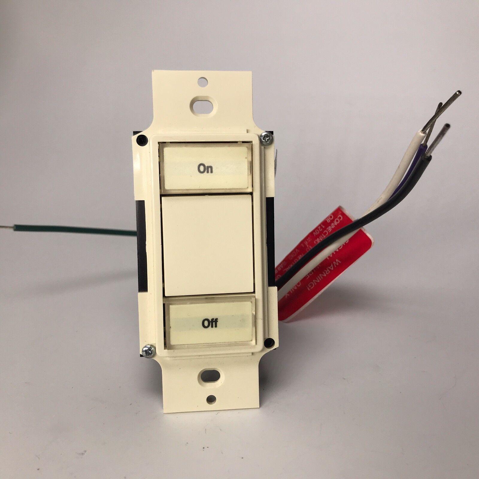 Lightolier MSPR Multiset Pro Control 2 Button Keypad - Almond