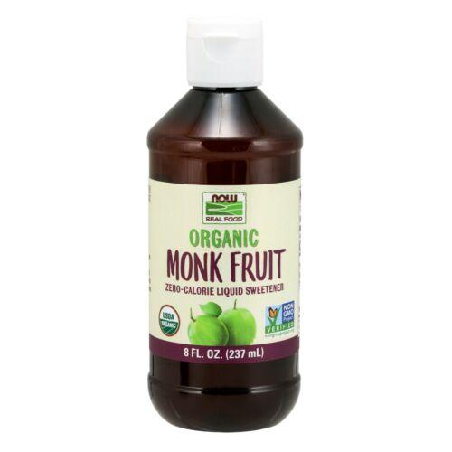 NOW Foods Monk Fruit Liquid, Organic, 8 fl. oz.