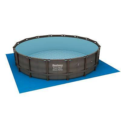 """Bestway 14' x 42"""" Power Bite the bullet Frame Above Ground Swimming Pool Set with Pump"""