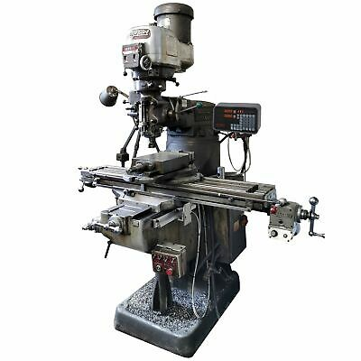 3 Axis Bridgeport 42 Table Mill Digital Readout Dro Kit - Magnetic Encoders ...