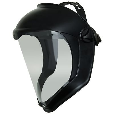 Uvex Bionic Face Shield With Clear Polycarbonate Visor And Anti-foghard Coat