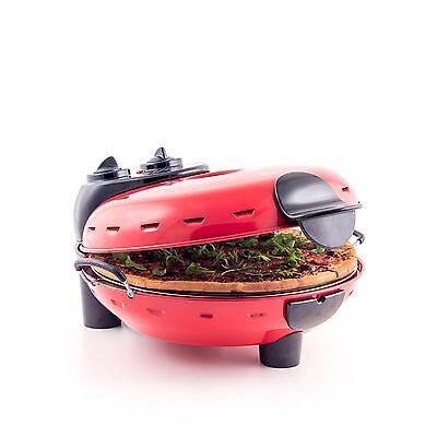 New Italian Home Stonebake Pizza Oven - Electric home Pizza Maker- JM Posner