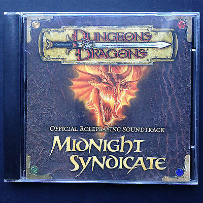 DUNGEONS AND DRAGONS Roleplaying Soundtrack OST CD '03 Midnight Syndicate [Rare]