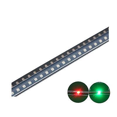 500pcs Smd Led Diode 06031608 Lights Chipsbi-color Redgreen Bulb