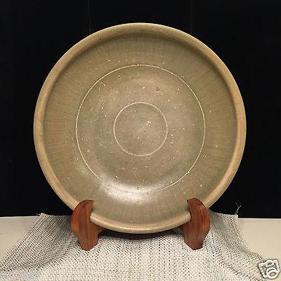 **RARE** Authentic 15th Century A.D. Burmese Celadon Large Plate
