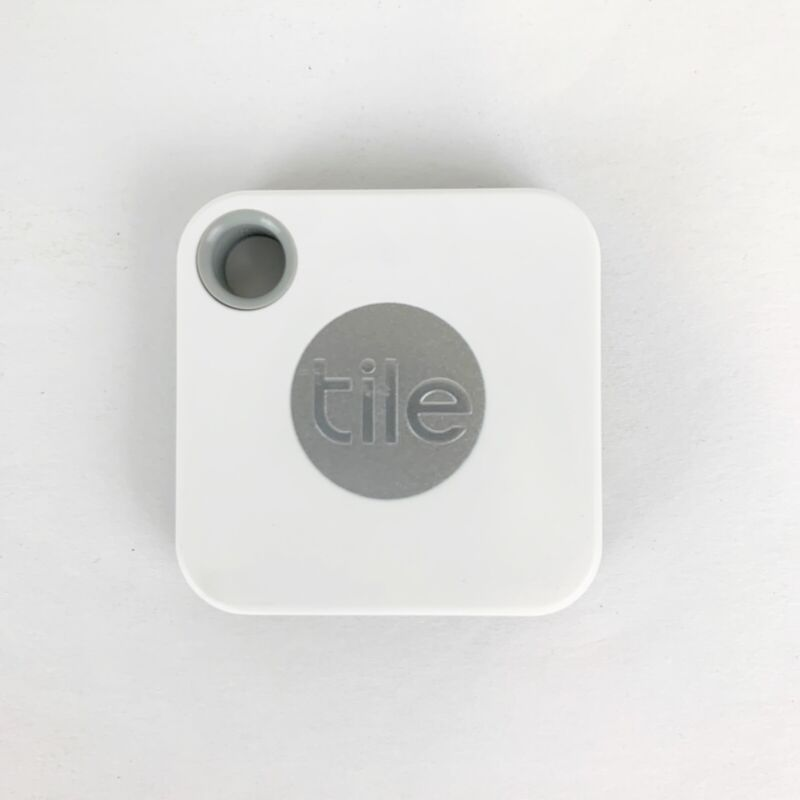 Tile Mate (2020) - Bluetooth Tracker Item Finder w/Replaceable Battery - 1 Pack
