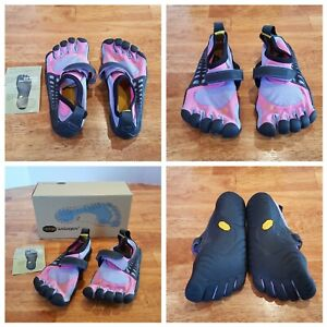 new product e49e1 b29ba VIBRAM FiveFingers Jr Girls Shoes G173 KSO Pink Black Purple EU31, US 1.5 -  2Y