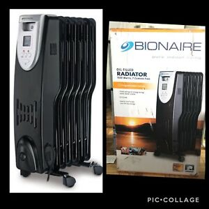 Bionaire oil filled RADIATOR 1500 heater