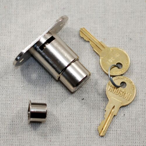 NEW - Hudson G2139 Plunger Cabinet lock, KA  HL301 w/ 2 Keys