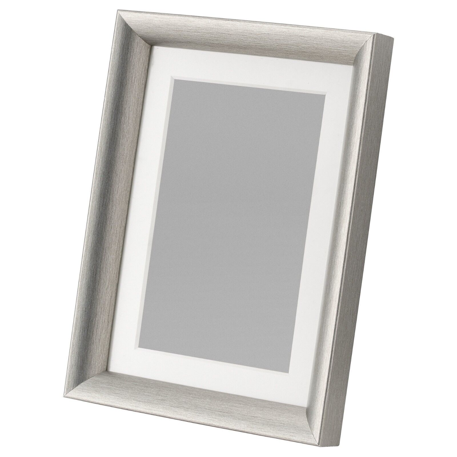 """Ikea SILVERHoJDEN 5""""x7"""" Picture Frame, silver or gold color,"""
