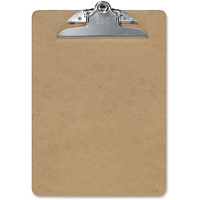 Officemate Rec Wood Clipboard Ltr 9x12-12 Brown 83500
