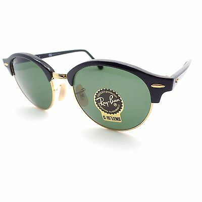Ray Ban Rb 4246 901 Black Gold G15 New Authentic Sunglasses