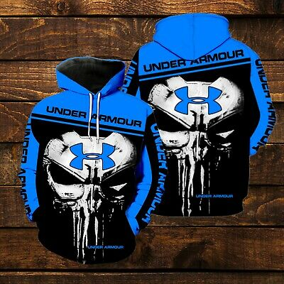 The Punisher Woman (The Punisher Under Armour New Full All Over Print 3d hoodie Size)