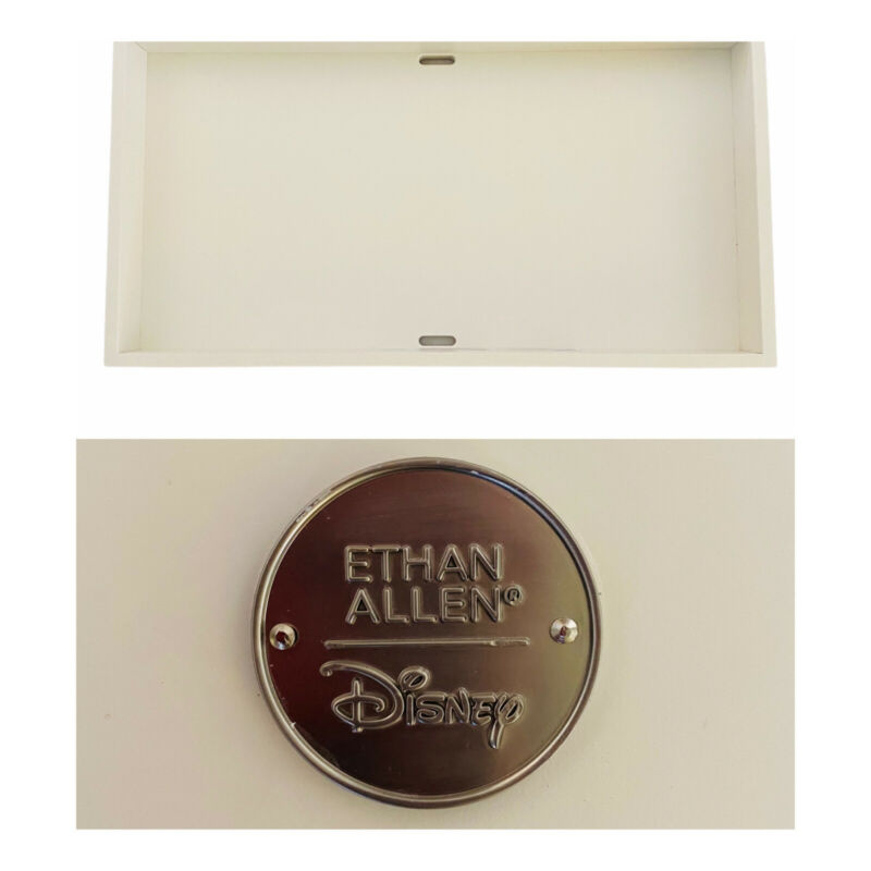 Ethan Allen Disney Collection White Nursery Furniture Hyperion Changing Topper